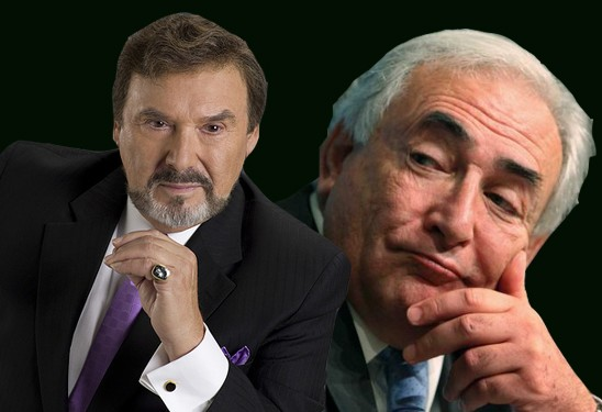 Dominique Strauss-Kahn Stefano Phoenix Stefano DiMera The Days of Our Lives TDOL